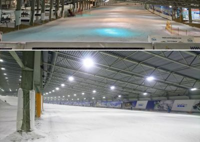 SnowWorld Landgraaf slope2 old vs new
